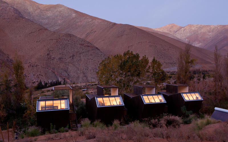 Hoteles en Chile.hotel elqui domos chile